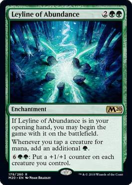 Magic: The Gathering - Leyline of Abundance - Core Set 2020