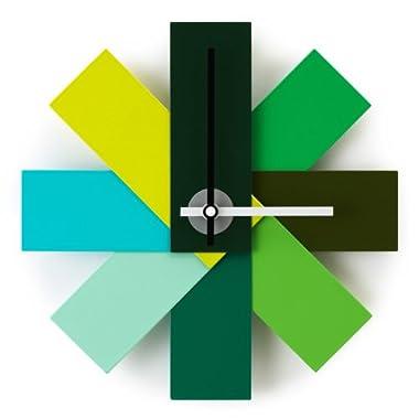 Normann Copenhagen Watch Me Wall Clock, Green 11
