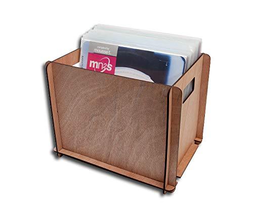 Schallplatten Holz Box Protected