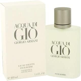 ACQUA DI GIO by Giorgio Armani Men's Eau De Toilette Spray 3.3 oz - 100% Authentic
