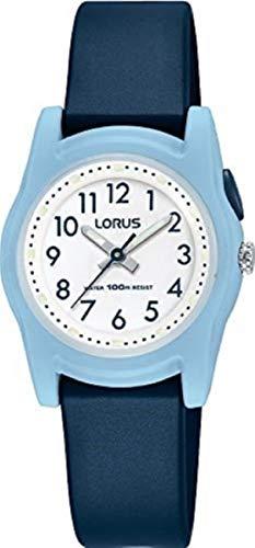 Lorus Kids Jungen-Uhr Edelstahl und Kunststoff mit Urethanband R2385MX9
