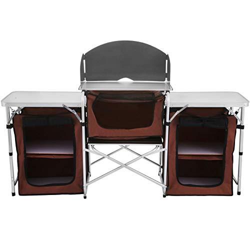 KITGARN Mesa de Cocina de Camping