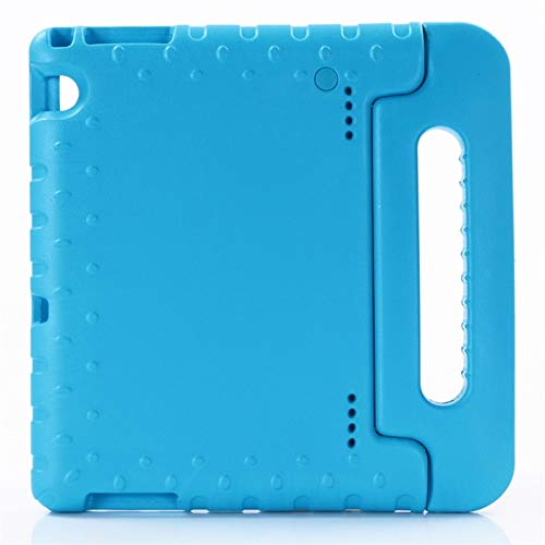 GHC PAD Cases & Covers For Huawei Mediapad T5 10 10.1 Inch, Tablet Hand-held Non-toxic EVA Full Body Cover For Huawei Honor Tablet 5 Kids case For huawei Mediapad T5 10 10.1inch (Color : Blue)