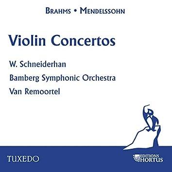 Brahms & Mendelssohn: Violon Concertos