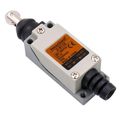 Heschen Endschalter Z-8/112 Parallel Roller Plunger, Geschlossen, NO + NC, Momentary, AC250V/5A, CE gelistet IP65