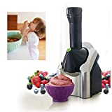 No Máquina para Hacer Helado electrónica, Hacer la Crema rápida y fácil Hecho en casa de Hielo, Yogurt Postre Sorbete de Helado Yogurt Máquina