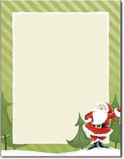 Jolly Santa Claus Holiday Stationery - 80 Sheets