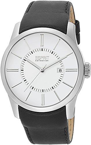 ESPRIT Reloj analógico para Hombre de Cuarzo con Correa en Cuero EL101731F02