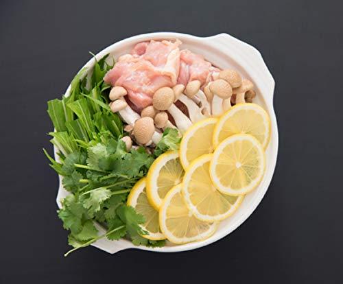 阿波尾鶏レモン鍋セット(3~4人前)レモン、無添加塩こうじ仕立て。阿波尾鶏500g、冷凍野菜、冷凍レモン6枚、塩麹パックも入った水炊きレモン鳥鍋セットです。お家に帰って、すぐできるお鍋。