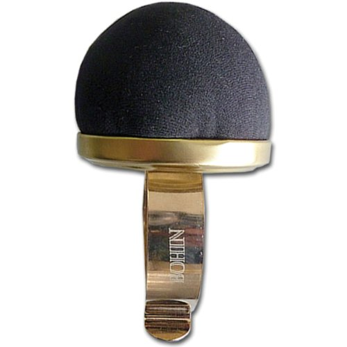 Bohin Wrist Pincushion, Black Velvet