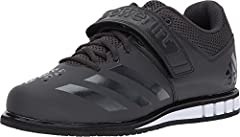Lightweight synthetic leather upper for durability and ankle support Air mesh collar, tongue and lining for maximum breathability Open forefoot and flexible toe design for enhanced comfort and breathability Weightlifting-engineered, high-density die-...