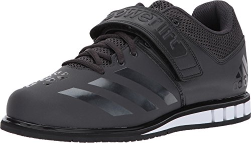 adidas Men's Powerlift.3.1 Cross-Trainer Shoes, Utility Black/Black/White, (10 M US)