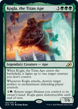 Magic: The Gathering - Kogla, The Titan Ape - Foil - Ikoria: Lair of Behemoths