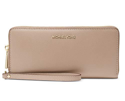 Michael Kors Women's Jet Set Continental Wallet (Truffle)