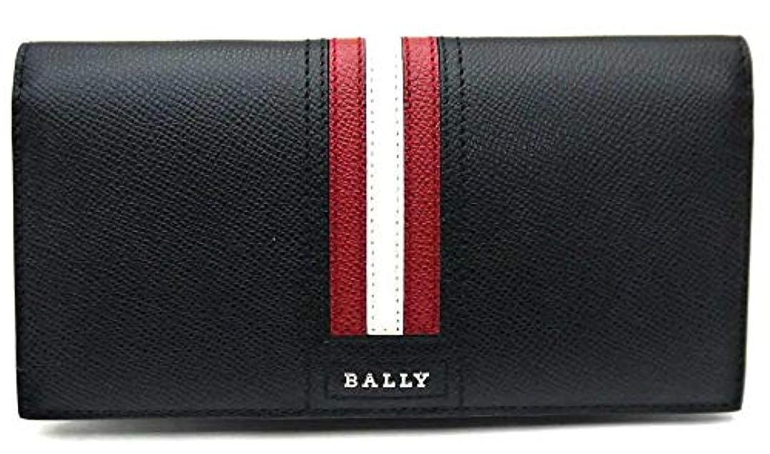 植物学者役に立たないゴシップバリー/BALLY 長財布 財布 二つ折り小銭入れ付き ブラック TALIRO LT 10 6218067 並行輸入品