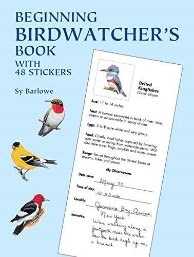 Beginning Birdwatcher's Book: With 48 Stickers (Dover Children's Activity...