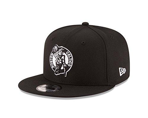 New Era NBA Boston Celtics Men's 9Fifty Snapback Cap, One Size, Black