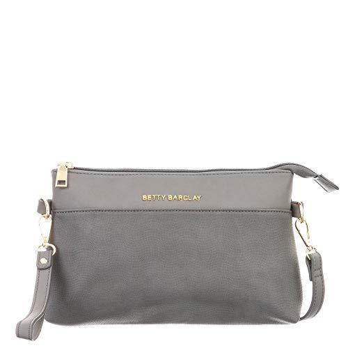Boscha Handtasche Anthracite, Damen, S, Crossover Bag