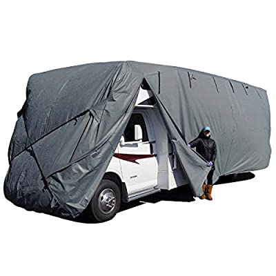 EmpireCovers ProTECHtor Breathable UV Resistant Class C RV Cover, Size RVC-E: Size E 31' - 33' Long