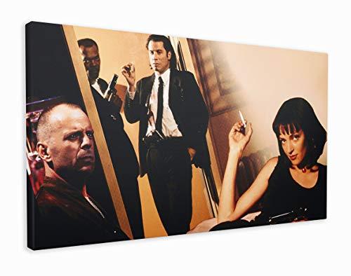 M2M Prints Pulp Fiction - Stampa su tela con personaggi (50 x 30 cm)