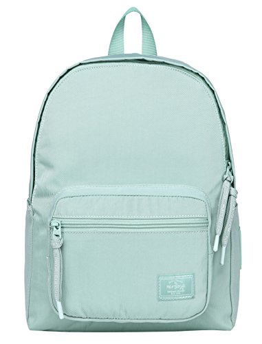 HotStyle MOREPURE 225s Small Backpack for Women & Girls, Plain Bookbag Purse Cute for Work Travel Everyday, Medium Aqua
