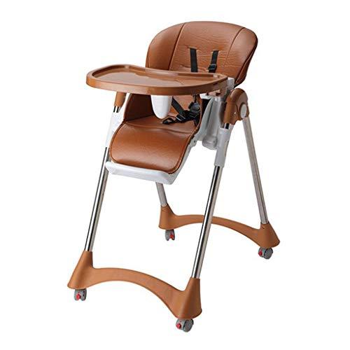 Chaise de Salle à Manger pour Enfants multifonctionnelle pour Chaise de bébé, Chaise Pliante, Chaise Haute, siège de Table à Manger, adaptée aux Enfants de 0 à 4 Ans