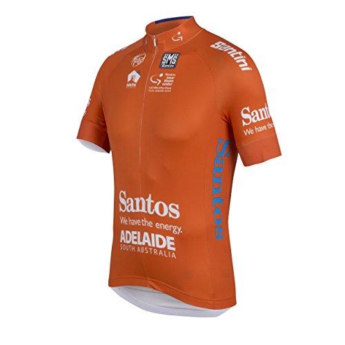Santini Maillot Ciclismo TDU Leaders 2016 Naranja M