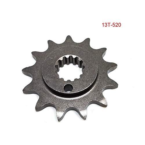 SSGLOVELIN NC250 13T 14T 520 Sprocket 250CC Zongshen ZS177MM Xmotos Apollo KAYO T6 BSE 250 4 Ventil Dirt Pit Bike (Color : 13T)