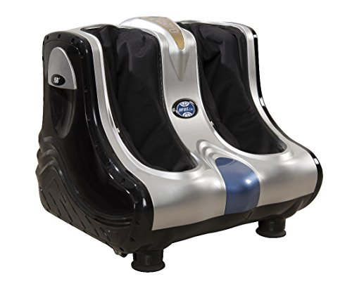 JSB Leg Foot and Calf Massager Machine for Pain Relief (Economy Version With Rubber Kneading Pads)