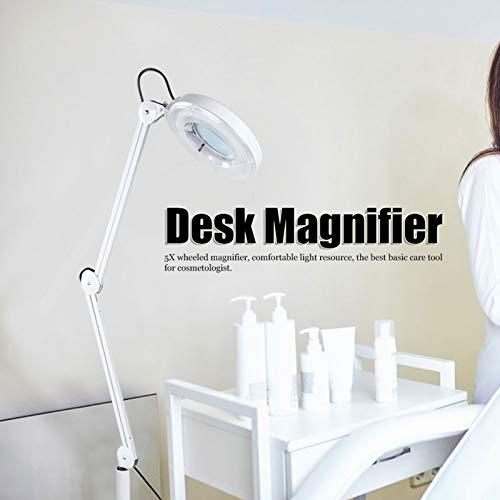 Lámpara de aumento de escritorio, enchufe europeo, lámpara de aumento de ahorro de energía estable de 220 V para el hogar, clínica de dentista, tienda de relojes para salón de belleza
