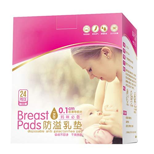 kexinda 24X / Box Einweg-Brust-Auflage Anti-Überlauf Breastpad Postpartale Still-BH Inner Mats