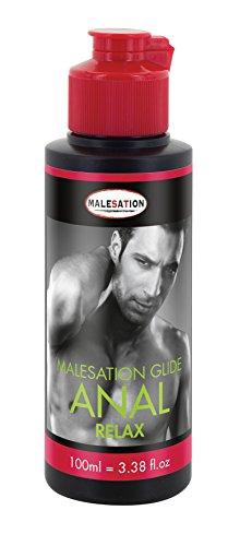 MALESATION Anal Relax Lubrifiant à Base d'eau 100 ml