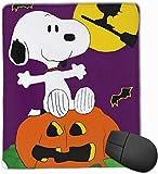 vbndfghjd 1784 Mauspad Happy Halloween Snoopy Computer Mauspad (7.1x8.7IN, 18x22CM)