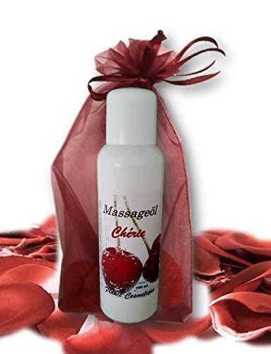Massageöl Cherie 100 ml mit Kirsch Aroma oral verwendbar sehr gleitfähig