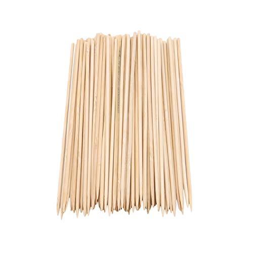 ZXDDD 1000 Stück Holzspieße Sticks für BBQ Barbecue Kebab Marshmallow Braten Schokoladenbrunnen
