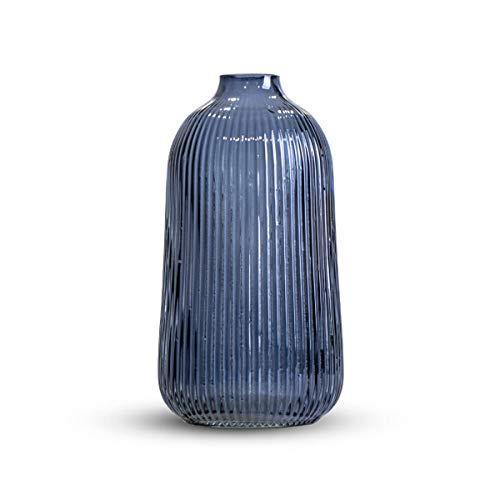 Jarrones Decorativos Cristal Azul jarrones decorativos  Marca Black Velvet Studio