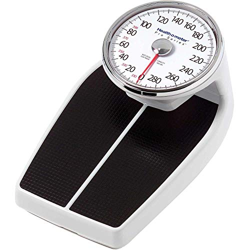 "Health O Meter Floor Scale 400 x 1lb, 11 x 12-1/2"" Platform W/Raised 8"" Dial, 160LB"