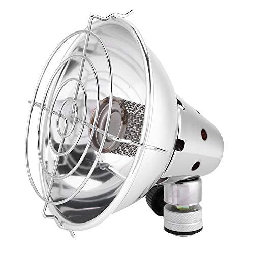 Mini Calentador de Gas para Acampar, Calentador para Senderismo, Calentador de Viaje, Calentador portátil, Estufa de Camping para Viajes, Senderismo