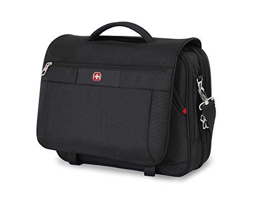 Swiss Gear sa8733schwarz TSA Freundlicher Scansmart Laptop Messenger Bag–passend für die meisten 38,1cm Laptops AMD Tablets