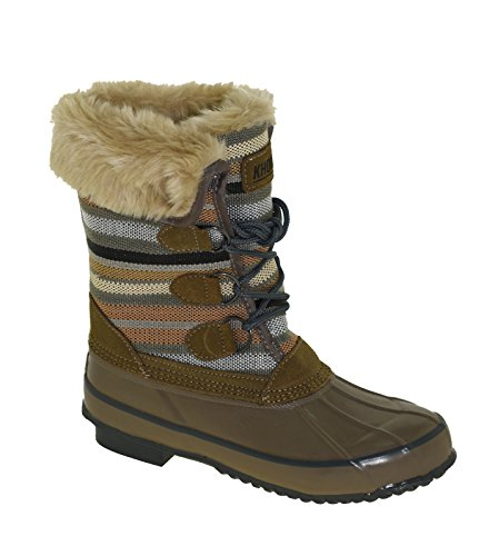Khombu Women's Solis Winter Boot Fossil, 9M