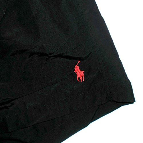 Ralph Lauren Short de bain hawaïen Polo Black - Medium