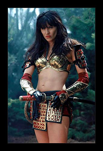 TERICK BIKERY #Xena #Warrior #Princess #Lucy Lawless TV Movie Poster Wall Art Home Decor Gifts for Lovers Painting