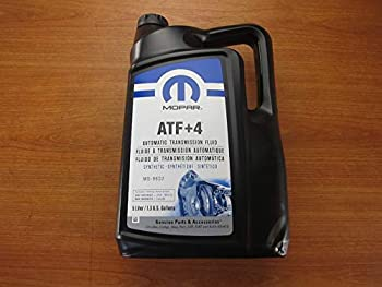 Mopar Five Liters of Synthetic Automatic Transmission Fluid ATF +4 New OEM