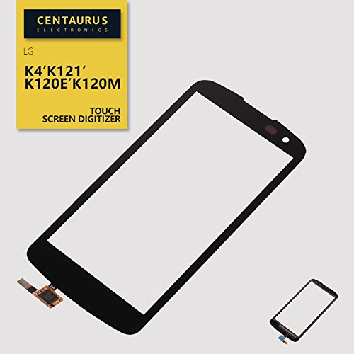 Touch Screen Digitizer Replacement for LG K4 Spree K120 Optimus Zone 3 VS425PP verizon (Have Hole and The Lower Edges Area Slight Bow)