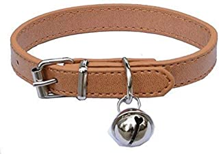 "Fashion Leather Pet Collars for Cats,baby Puppies Dogs,adjustable 8""-10.5"""