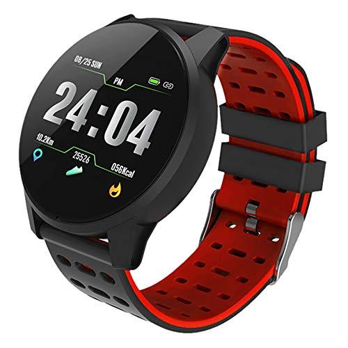 Fitness Tracker,Smartwatch Wasserdicht IP68 Fitness Armband mit Pulsmesser 0,96 Zoll Farbbildschirm Aktivitätstracker Pulsuhren Schrittzähler Uhr Smart Watch Fitness Uhr für Damen Herren