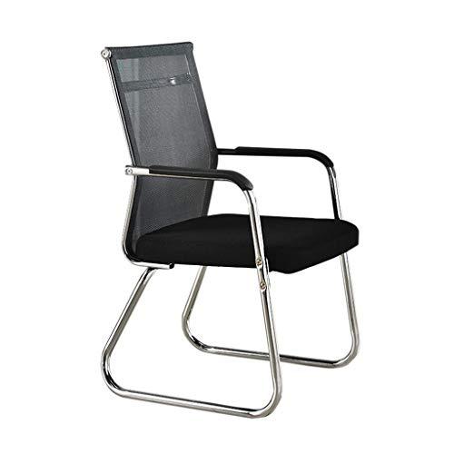 WY silla de oficina silla de recepción de vuelta tubular comodidad resistente al agua no es fácil