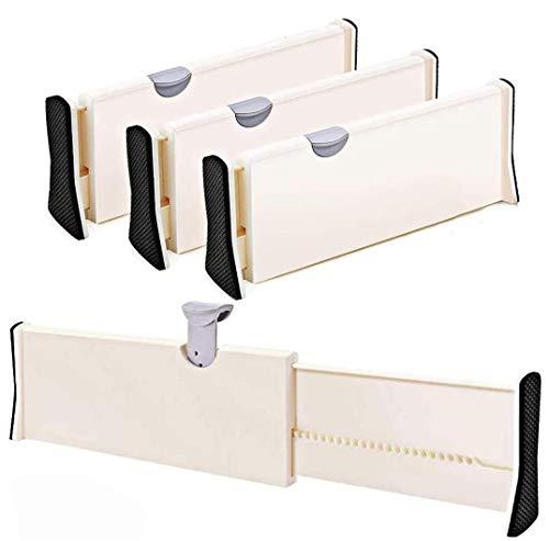 Wooden-Life Schubladen Organizer, Schubladentrenner, Schubladenteiler, Die 3er-Set Schubladentrenner geeignet für Küche, Kommode, Schlafzimmer, Baby Schublade, Bad, Schreibtisch