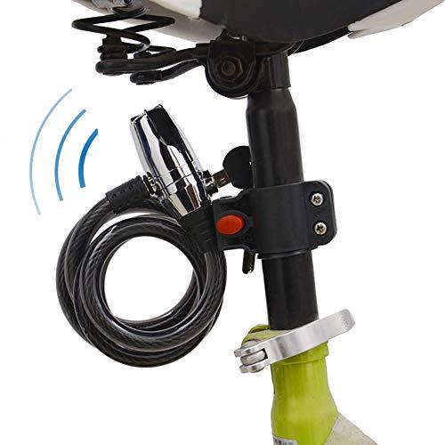 Carachome motorslot alarm, alarmgeluid 110 dB, diefstalbeveiliging, waterdicht, fietsslot alarm, voor fietsen en motorfietsen