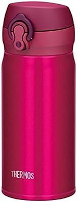 サーモス 水筒 真空断熱ケータイマグ 【ワンタッチオープンタイプ】 350ml ストロベリーレッド JNL-352 SBR